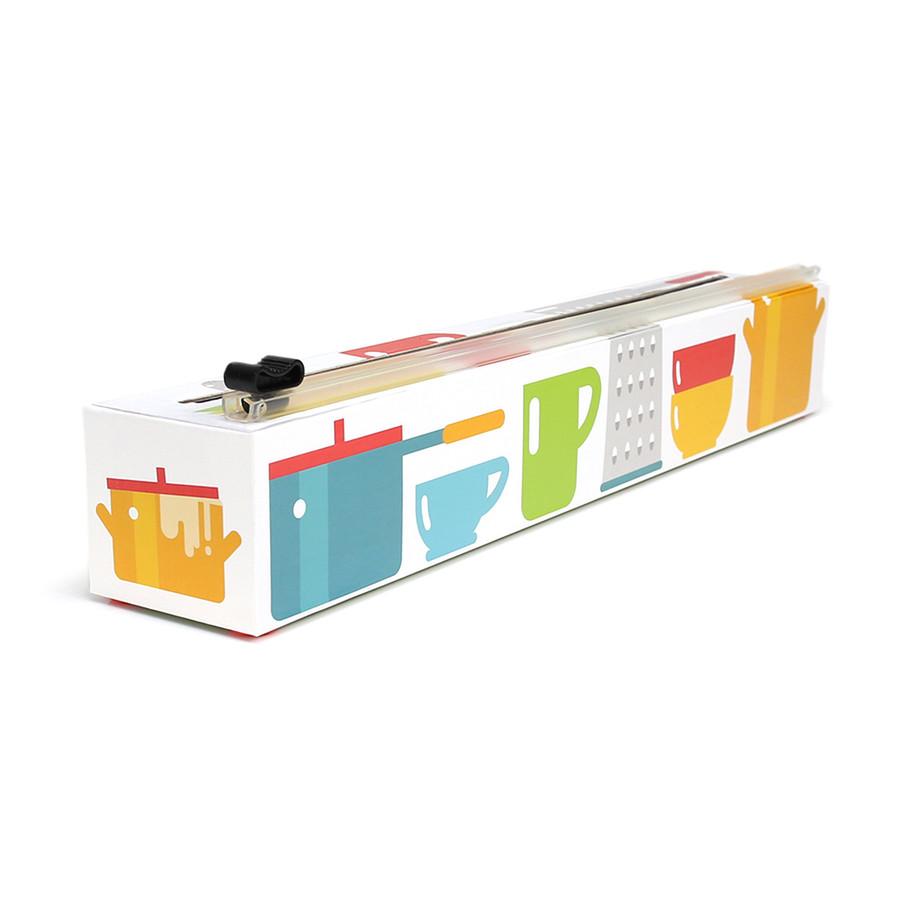 "Dispenser  ""Kitchen Cabinet"" Polyethylene Plastic Wrap 12"" x 200'"