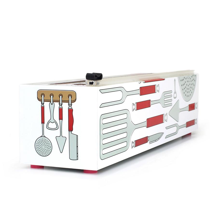 "Dispenser ""BIG CHEF"" Plastic Wrap 12"" x 1000'"