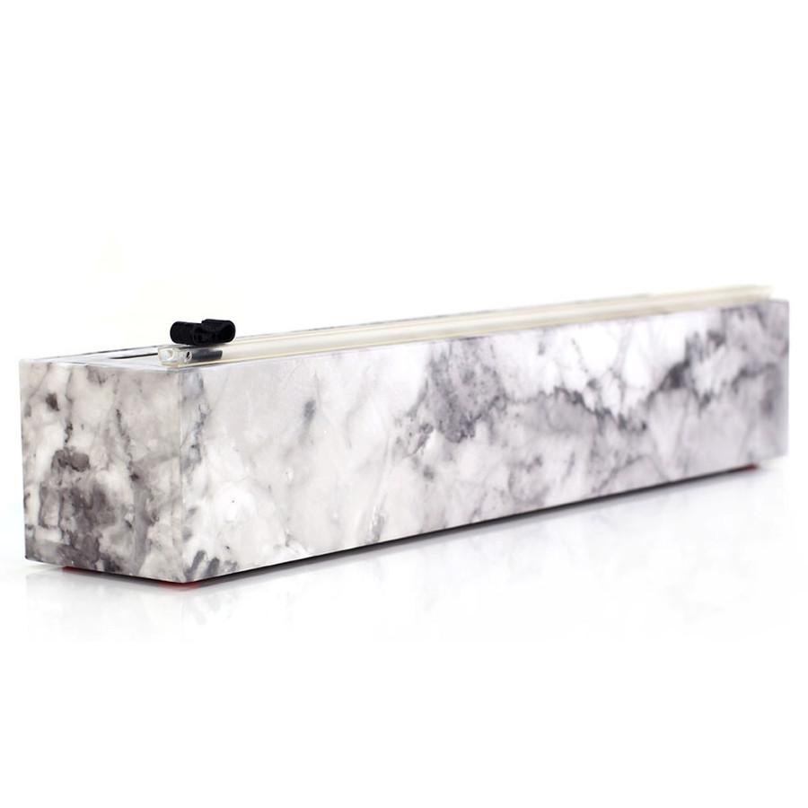 "Dispenser Marble Plastic Wrap 12"" x 250'"