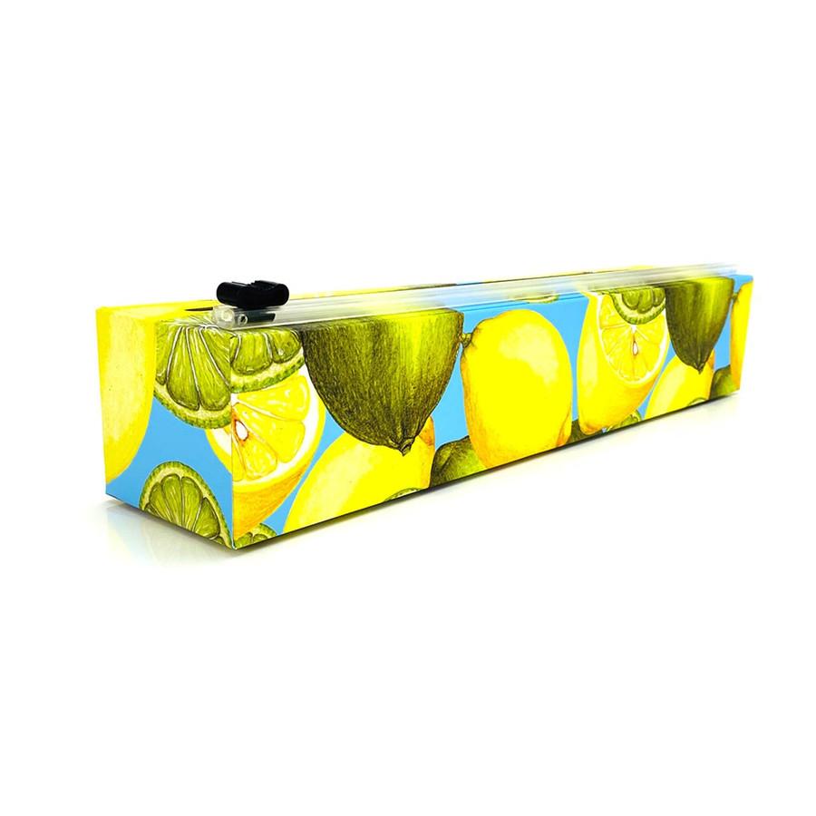 """NEW Dispenser Lemon Plastic Wrap 12"""" x 250'"""
