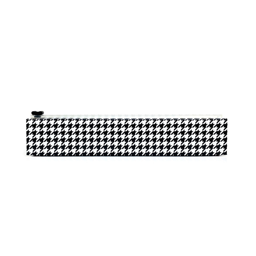"NEW Dispenser Houndstooth Plastic Wrap 12"" x 250'"