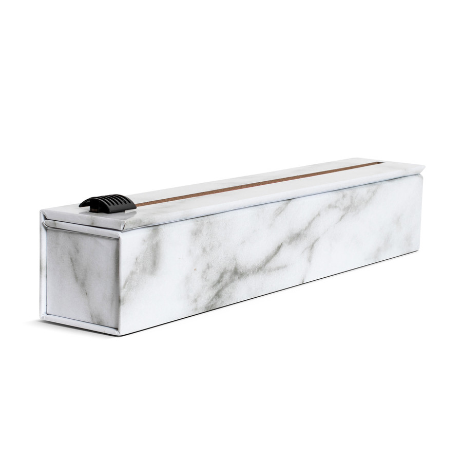 """NEW Dispenser Carrara Marble Aluminum Foil 12"""" x 30'"""