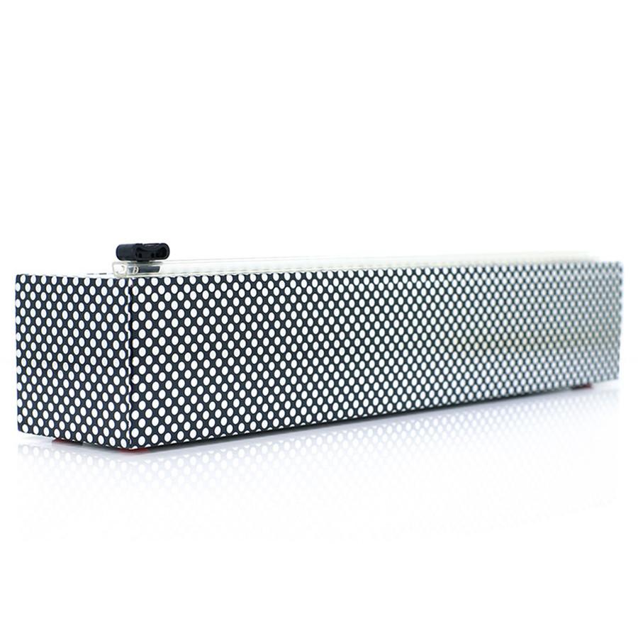 "Dispenser Silver Dots Plastic Wrap 12"" x 250'"