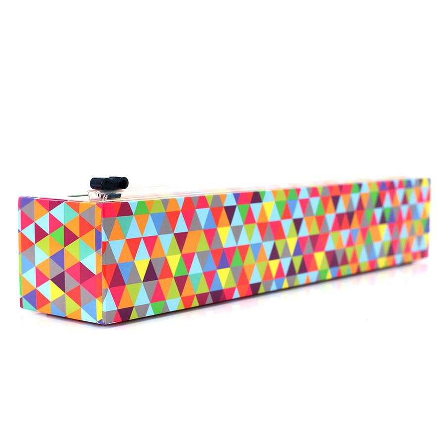 "Dispenser Triangles Plastic Wrap 12"" x 250'"
