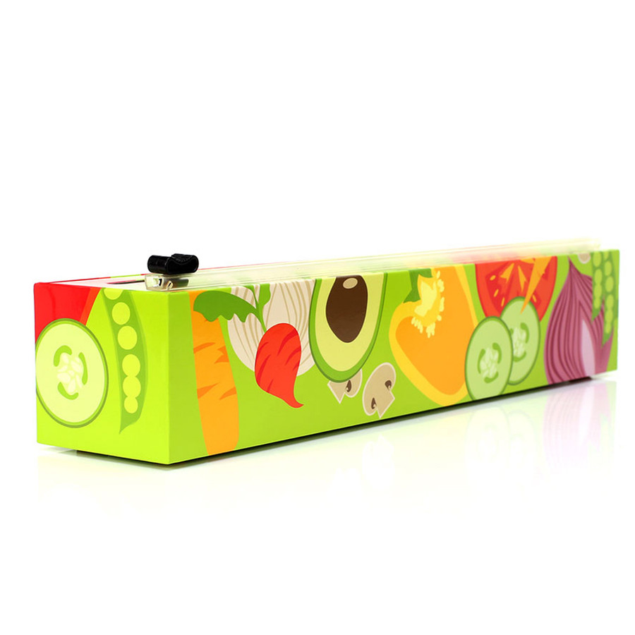 "Dispenser Veggies Plastic Wrap 12"" x 250'"