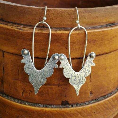 Sterling Wings Earrings