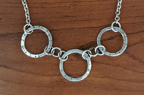 Connected Circle Necklace