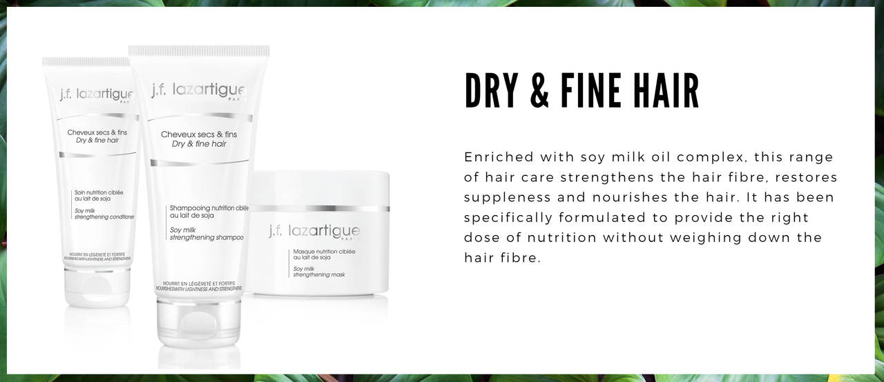 Soy Milk - Dry Fine and Delicate Hair