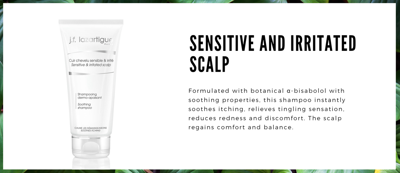 Sensitive and Irritated Scalps- Soothing