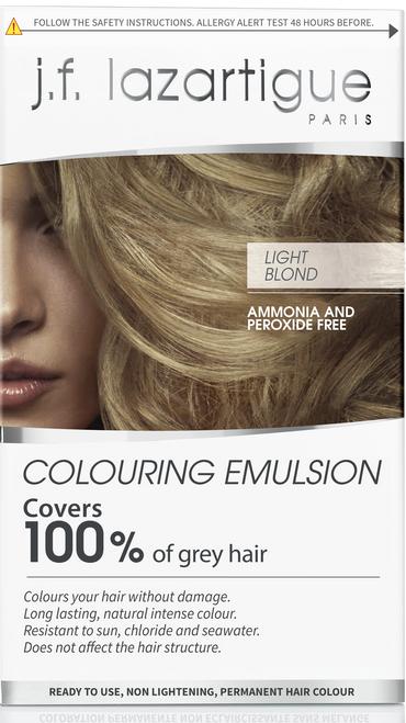 j.f. lazartigue Light Blond Colouring Emulsion - 01717