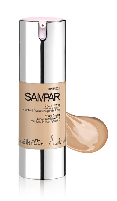 SAMPAR Crazy Cream - Perfecting tinted cream Nude Texture