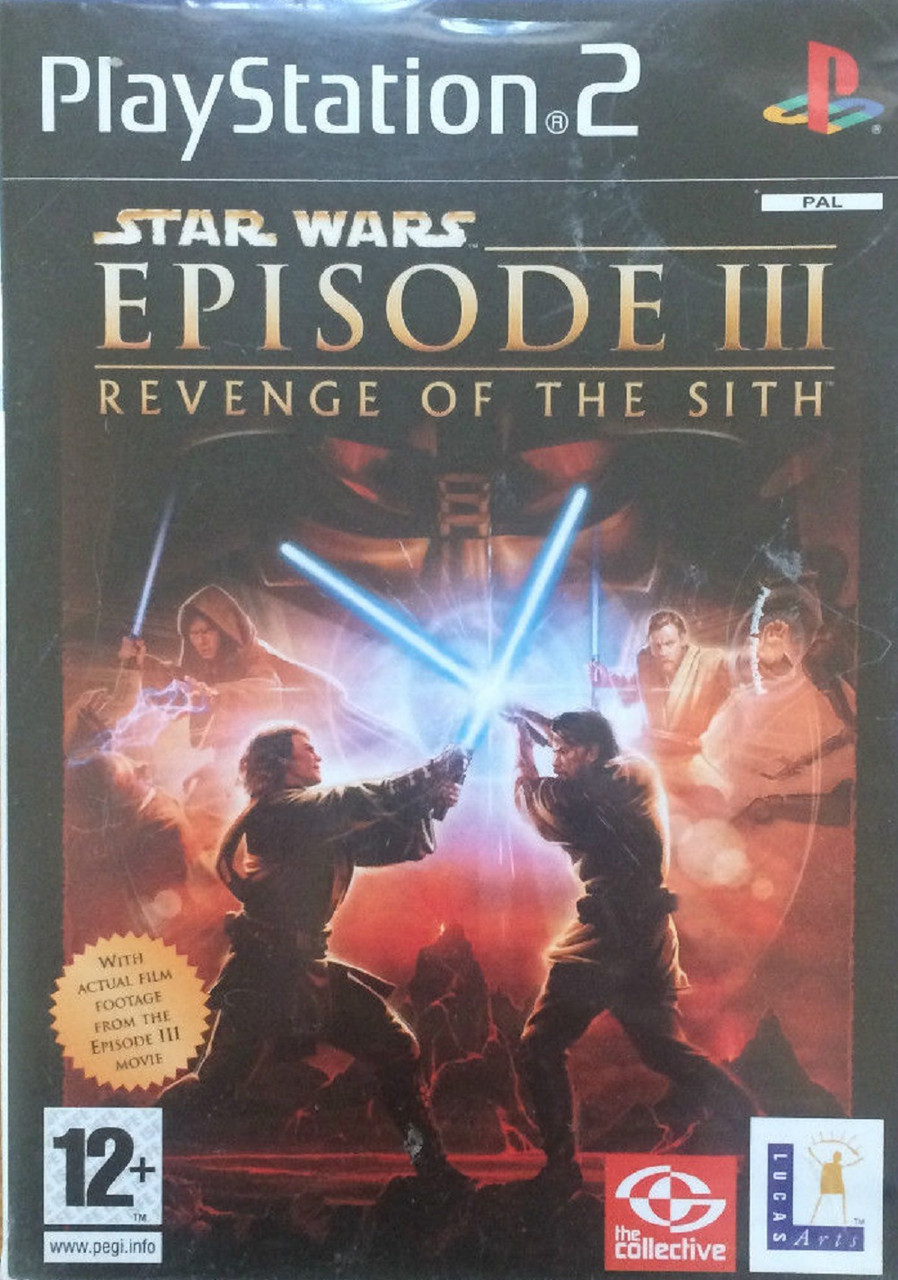 Star Wars Episode Iii Revenge Of The Sith For Sony Playstation 2 Ps2 From Lucasarts Sles