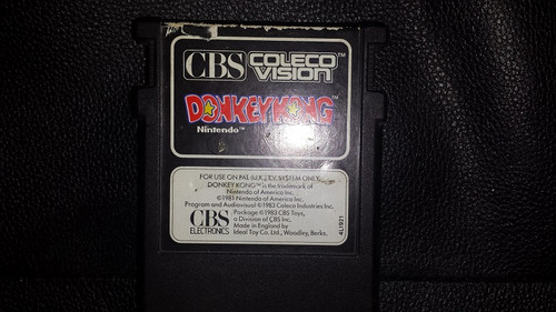 Donkey Kong for CBS ColecoVision from Nintendo/Coleco