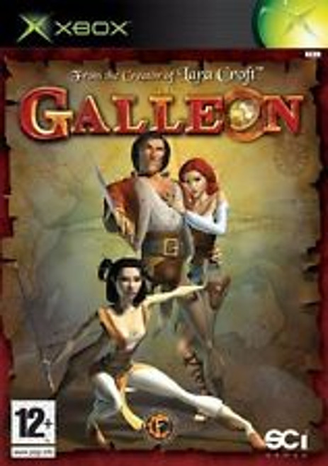 Galleon PAL for Microsoft XBOX from SCi Games