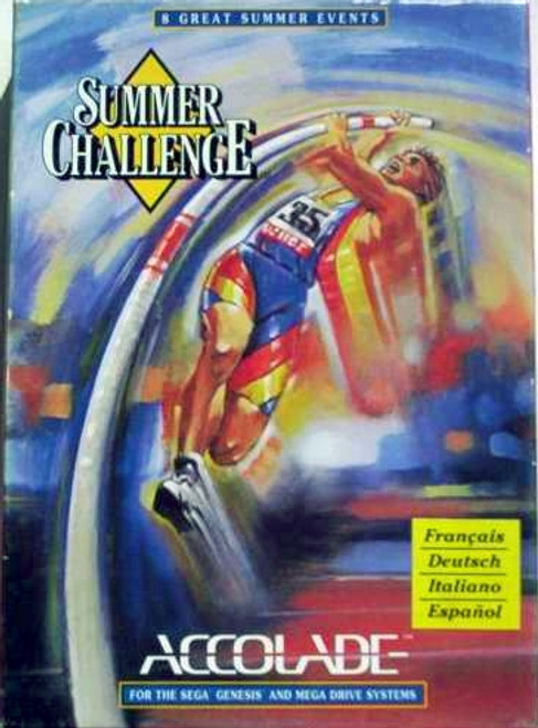 Summer Challenge for Sega Megadrive from Accolade