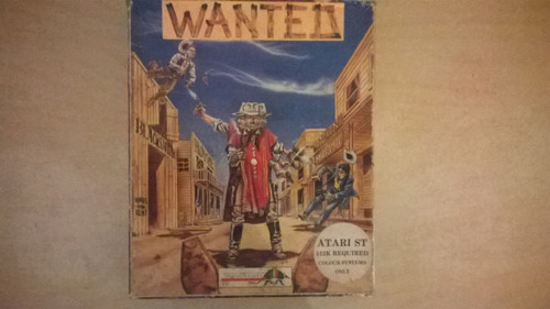 Wanted for Atari ST from Infogrames