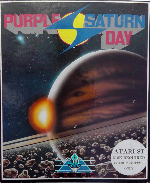 Purple Saturn Day for Atari ST from Exxos