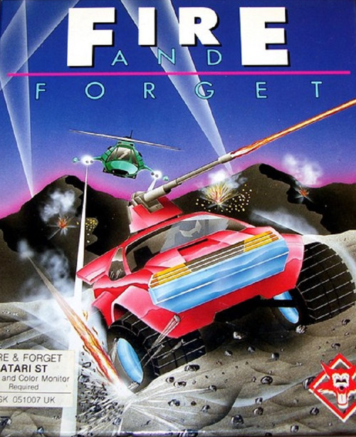 Fire And Forget for Atari ST from Titus