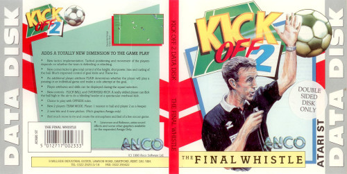 Kick Off 2: The Final Whistle for Atari ST from Anco