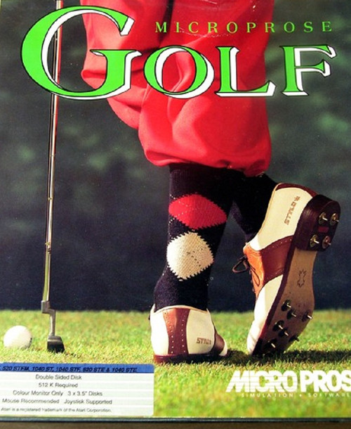MicroProse Golf for Atari ST from MicroProse