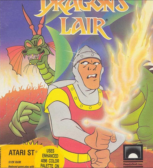 Dragon's Lair for Atari ST from ReadySoft Inc