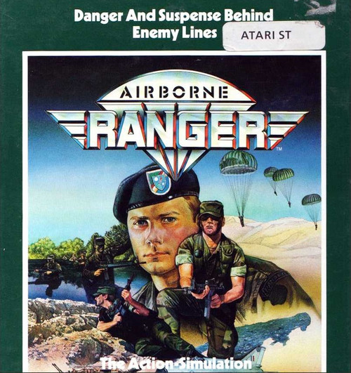 Airborne Ranger for Atari ST from MicroProse