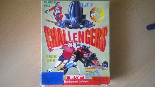 Challengers for Atari ST from UbiSoft