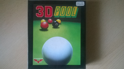 3D Pool for Atari ST from Firebird