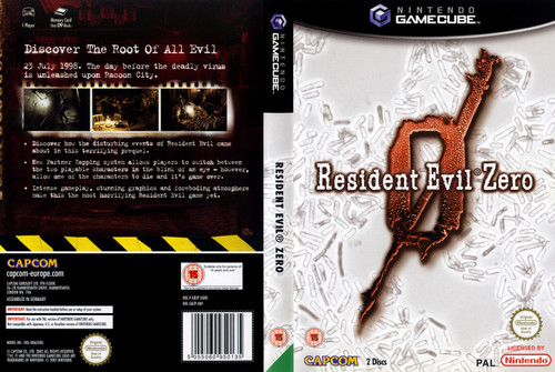 Resident Evil Zero for Nintendo Gamecube from Capcom