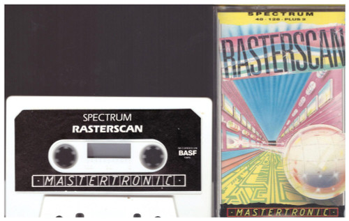 Rasterscan for ZX Spectrum from Mastertronic