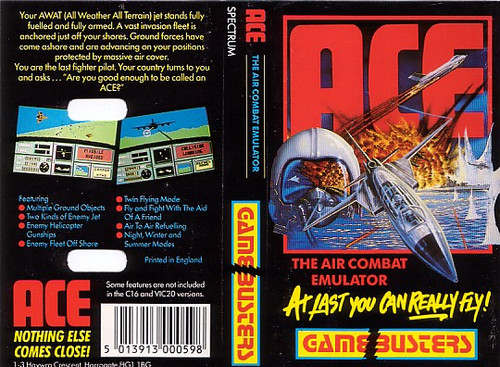 ACE for ZX Spectrum from Gamebusters