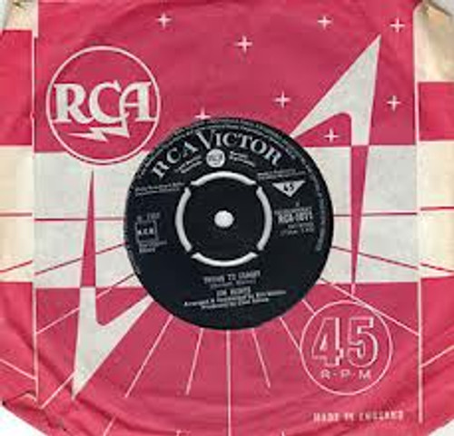 """7"""" 45RPM Trying To Forget/The Storm by Jim Reeves from RCA"""