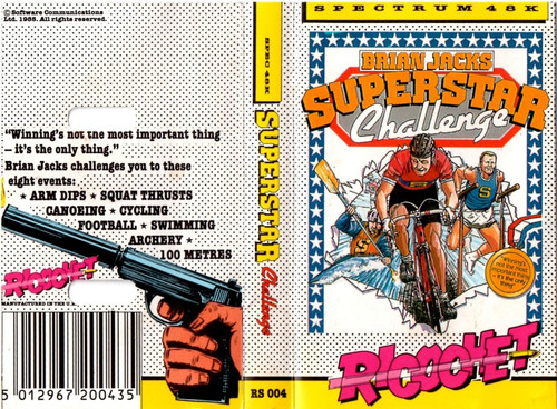 Brian Jacks Superstar Challenge for ZX Spectrum from Ricochet/Mastertronic
