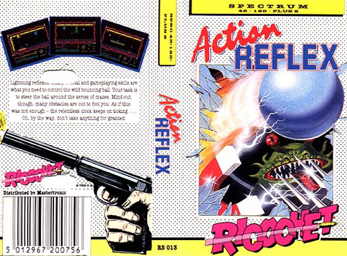 Action Reflex for ZX Spectrum from Ricochet/Mastertronic