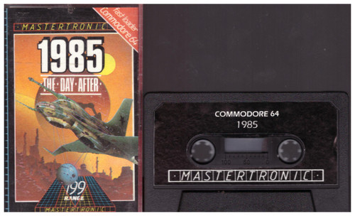 1985: The Day After for Commodore 64 from Mastertronic (IC 0060)