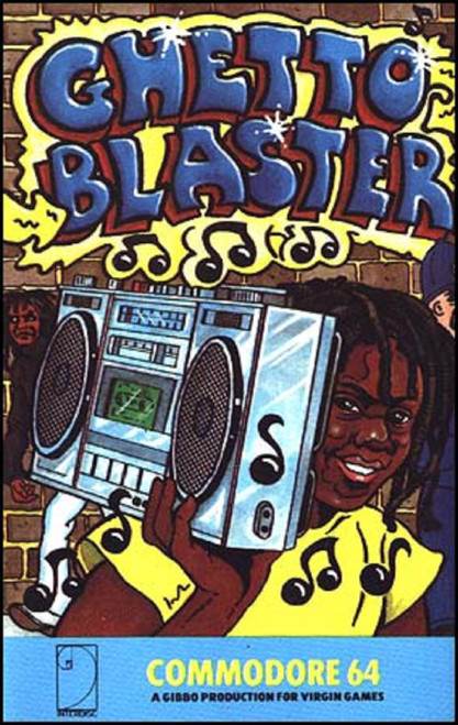 Ghetto Blaster for Commodore 64 from Virgin Games