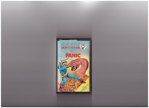 Panic for Commodore Vic 20 from Bug-Byte