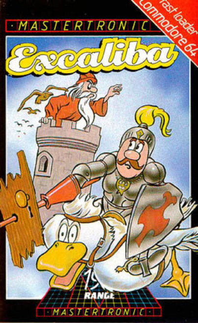 Excaliba for Commodore 64 from Mastertronic