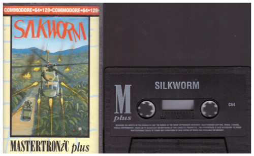 Silkworm for Commodore 64 from Mastertronic Plus