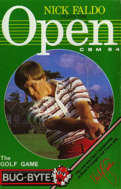 Nick Faldo's Plays The Open for Commodore 64 from Bug-Byte