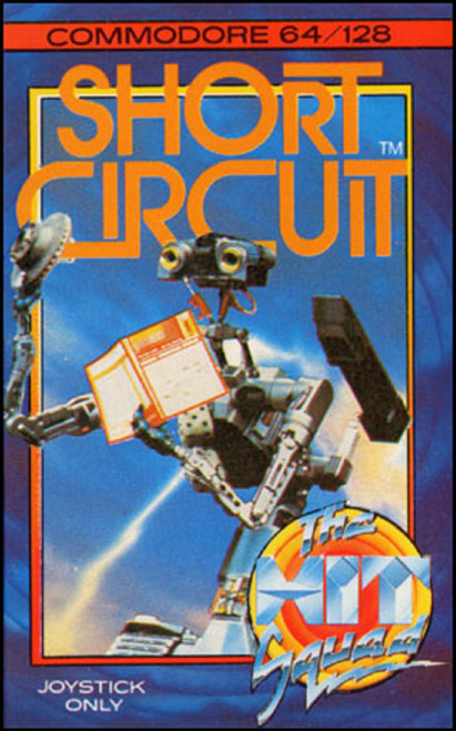 Short Circuit for Commodore 64 from The Hit Squad