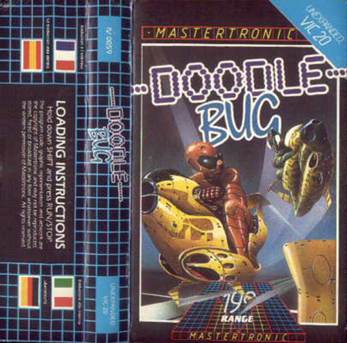 Doodle Bug for Commodore Vic 20 from Mastertronic