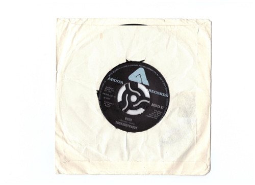 """7"""" 45RPM When/Superstar by Showaddywaddy from Arista Records (ARISTA 91)"""