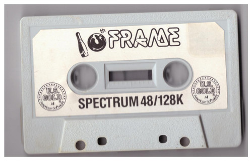 10th Frame Tape Only for ZX Spectrum from U.S. Gold
