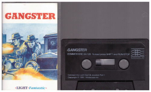 Gangster for Commodore 64 from Mindscape