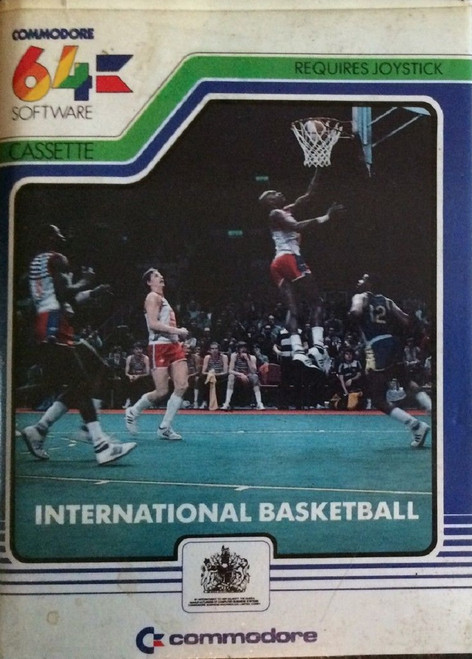 International Basketball for Commodore 64 from Commodore