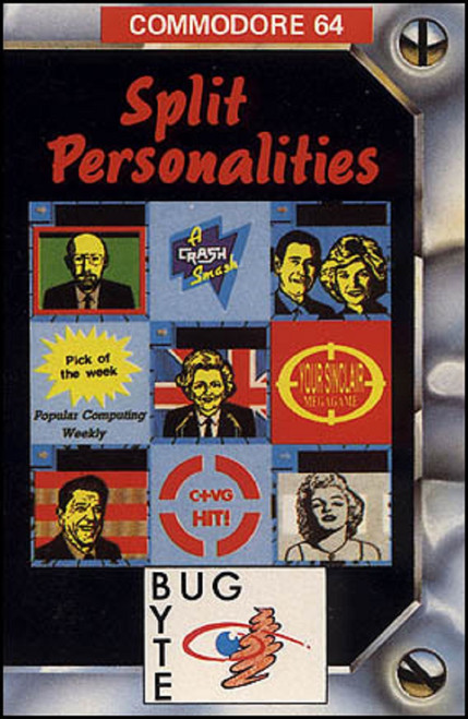 Split Personalities for Commodore 64 from Bug-Byte