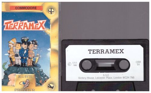 Terramex for Commodore 64 from Bug-Byte Premier