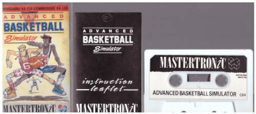 Advanced Basketball Simulator for Commodore 64 from Mastertronic (PAL CM7)