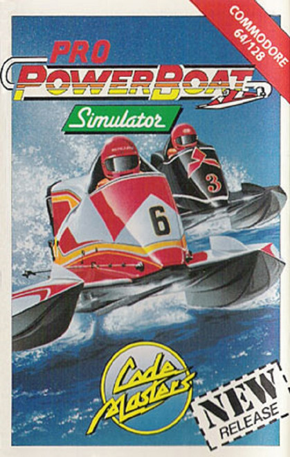 Pro Powerboat Simulator for Commodore 64 from CodeMasters